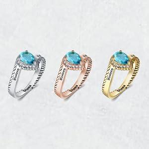 Women's High School Class Ring