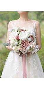 11amp;amp;amp;#39;amp;amp;amp;#39; dusty rose bridal bouquet