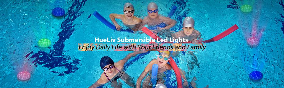 submersible pool lights
