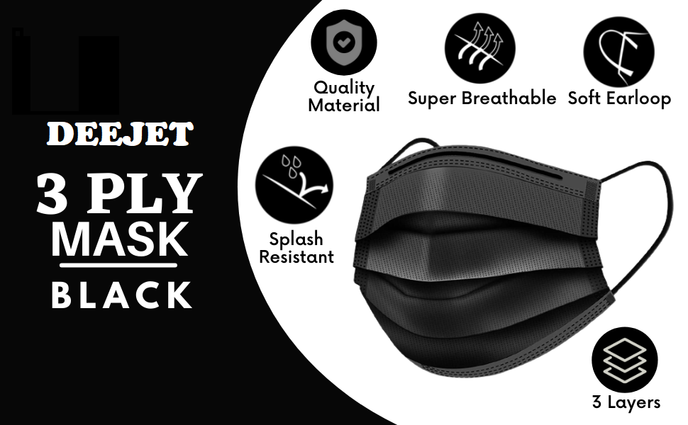 surgical mask with nose pin