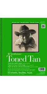 Strathmore, Toned Tan, Artist Paper