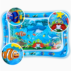 Colorful marine patterns help improve the quality of tummy time, High quality ,Waterproof