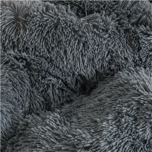With soft fluffy plush fabric, could offer people a smooth and soft touch just like milk The