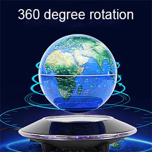 Magnetic Levitation Floating Globe Anti Gravity Rotating World Map