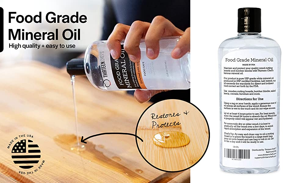 Food Grade Mineral Oil; high quality and easy to use