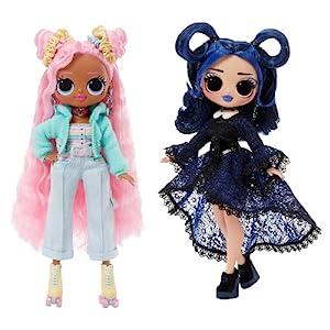 LOL Surprise OMG Moonlight B.B. and Sunshine Gurl Fashion Doll