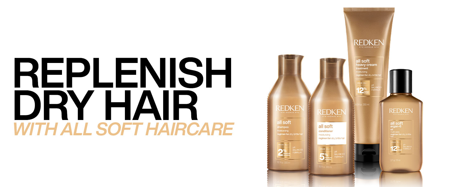 redken all soft conditioner dry hair