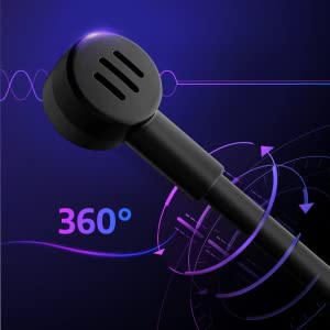 Unidirectional Noise-Cancelling Microphone