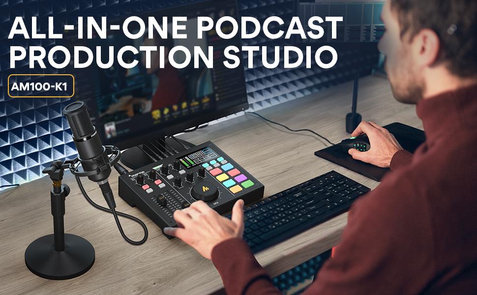audio mixer podcast