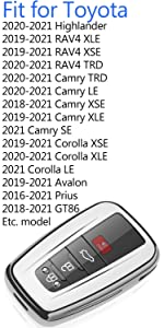 camry key fob cover choice