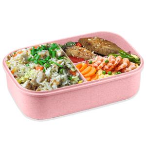 3 Compartment Bento Box for Adults, Kids