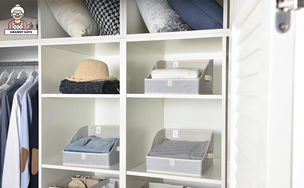 GRANNY SAYS Open Storage Bins