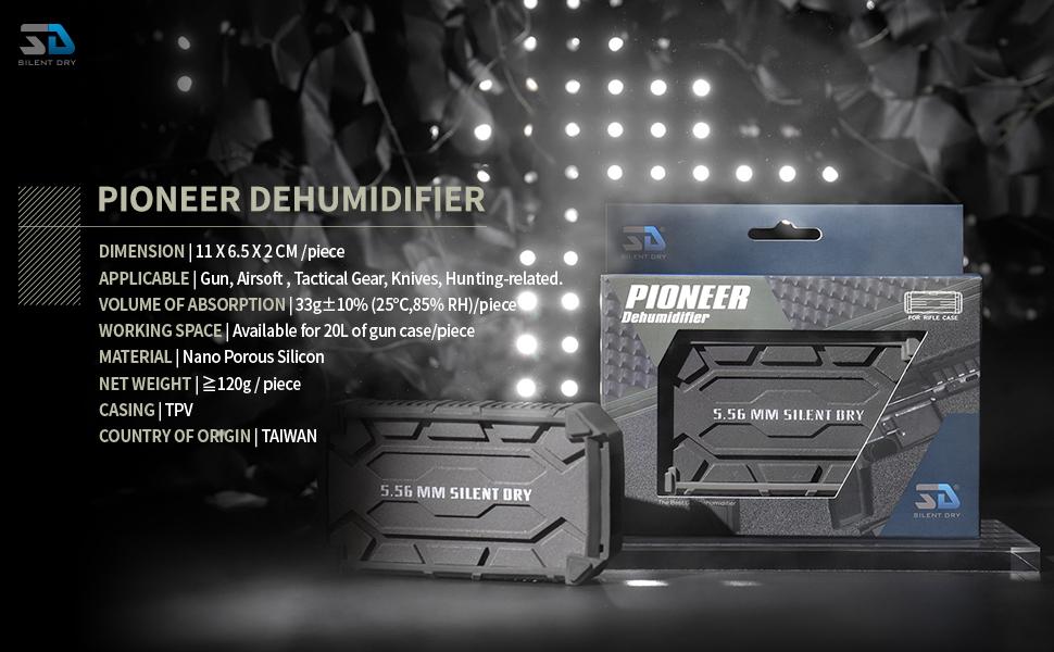 SD SILENT DRY Pioneer Dehumidifier