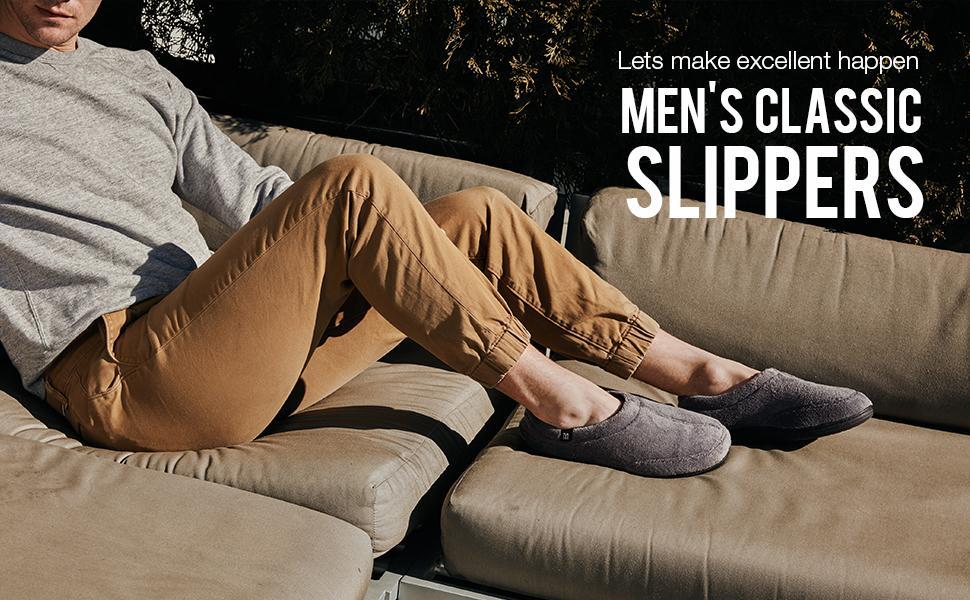 Mens Classic Slippers