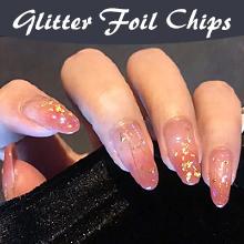 Glitter Foil Chips