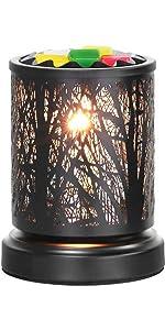 Metal Forest Design  Wax Melt Warmer