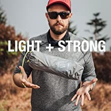 Helinox furniture is light and strong