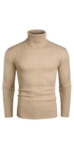 Men's Casual Turtleneck Sweater