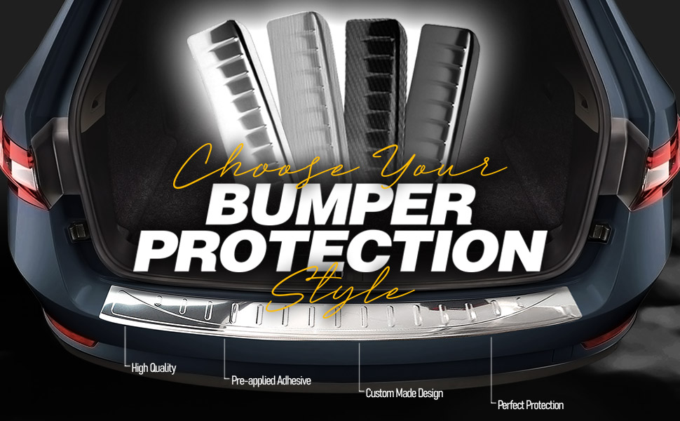 Bumper Accessories Rear Cover Guard Steel Chrome Sill Front Car Stainless Plate