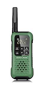 walkie talkies rechargeable two way radio waterproof noaa sos adults kids