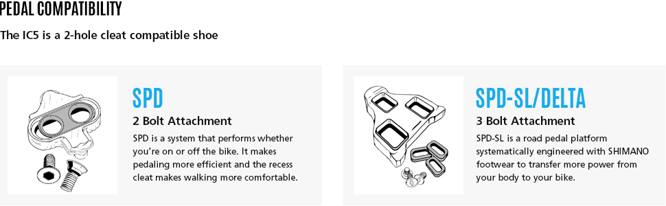 Shimano Indoor Cycling Cleat  Compatibility