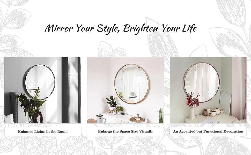 Stylish Wall Circle Mirror