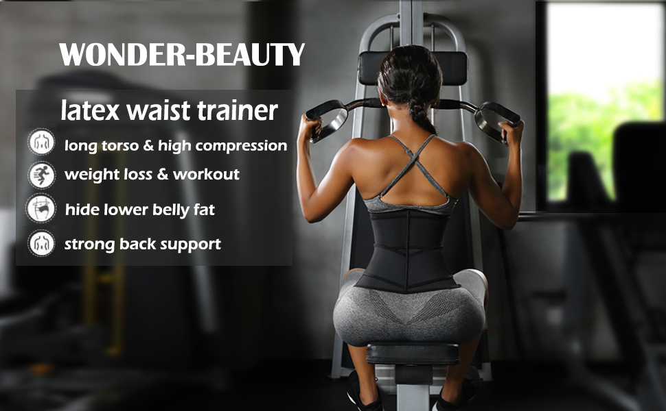 waist trainer for women for lower belly fat