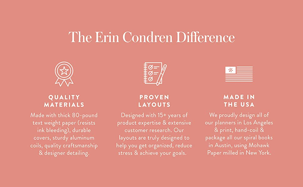 The Erin Condren Difference