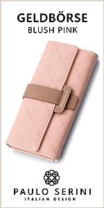 einkaufen querformat lange Kartenetui faltbar Freizeit Business Blumen Blüten Muster Handtasche