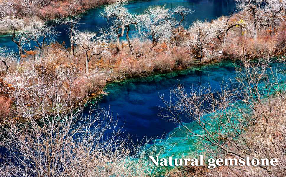 Natural gems, from nature