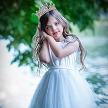 Princess Tiaras for Flower Girls