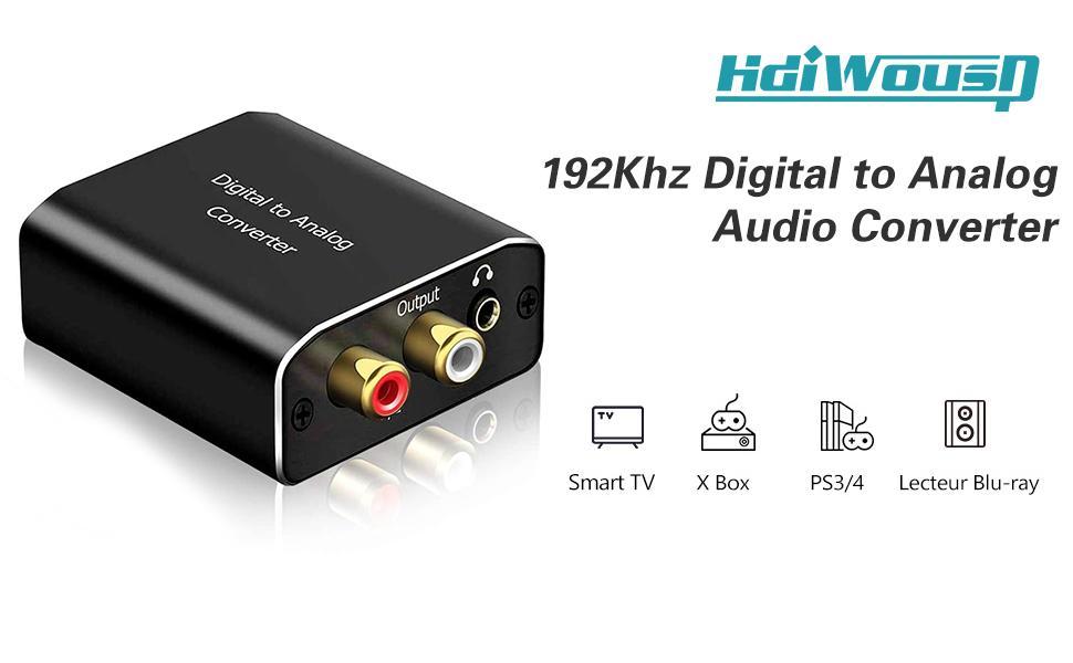 digital optical to analog audio converter