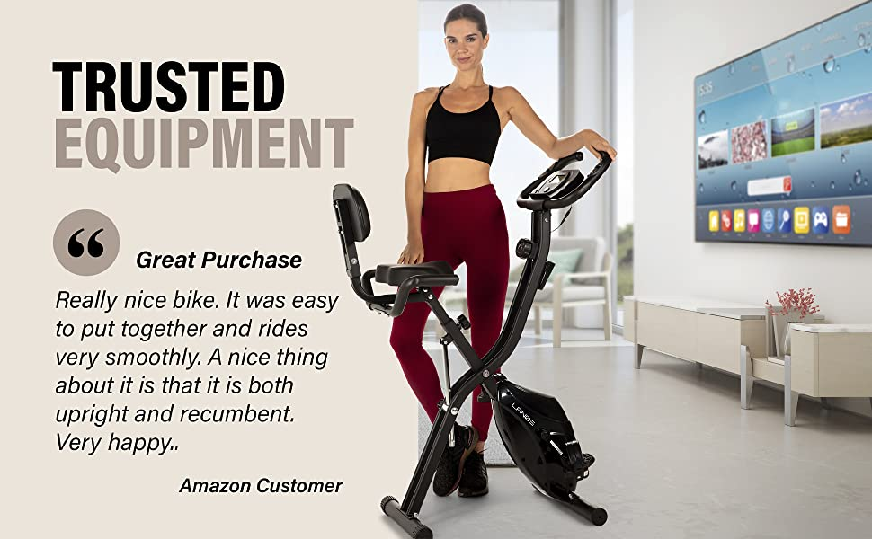 Trusted equipment. Great Purchase testimonial from customer. Really nice bike and easy to assemble