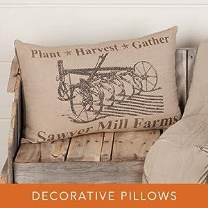 sawyer mill harvest decorative pillows