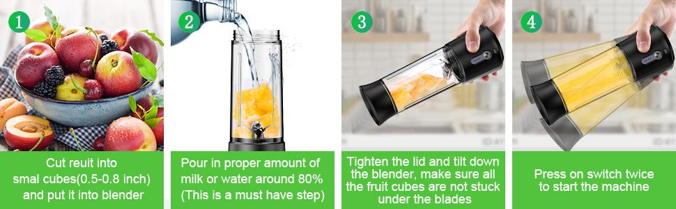 Blender for Shakes and Smoothies