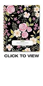 Black Floral Cover