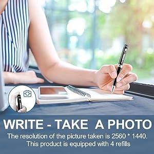 DZFtech Hidden Camera Pen