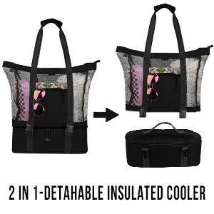 mesh cooler bag
