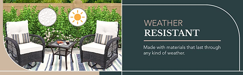 weather resistant patio chairs set of 2 matching swivel patio chairs outdoor swivel chairs