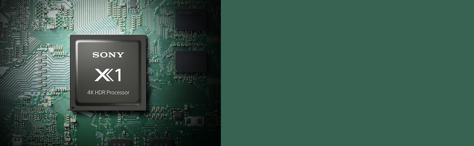 Sony X1 Processor on motherboard