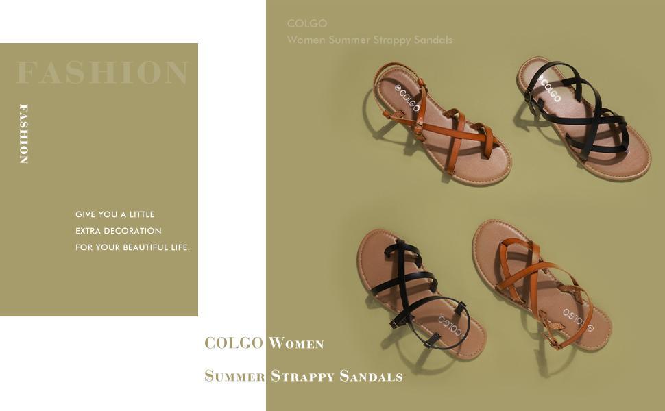 Women summer strappy sandals