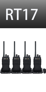 two way radios 4 pack