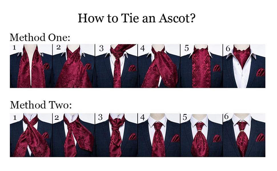 Ascot Cravat Tie