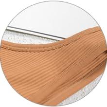 Wide side strap