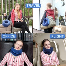When you traveling on airplane, bus, train or at home, you can take this portable kit
