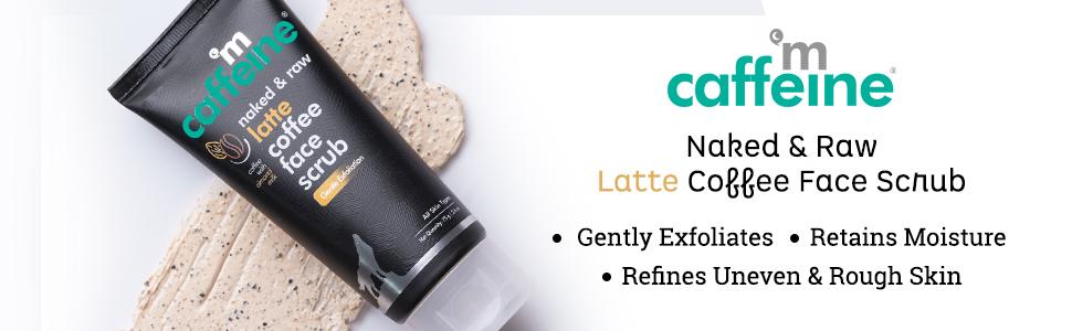 mCaffeine Naked & Raw Latte Coffee Face Scrub