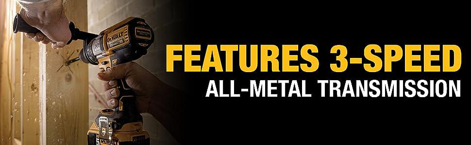 all metal transmission