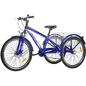 Blue mountain tricycle