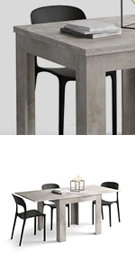 Table extensible Eldorado