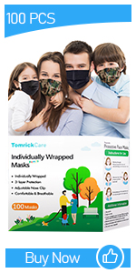 100pcs Family Pack face mask